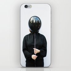 Behind the balloon iPhone & iPod Skin