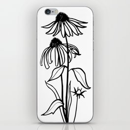 Coneflowers iPhone Skin