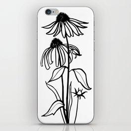 Coneflowers iPhone Skin