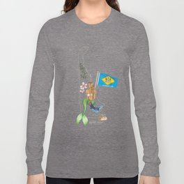 Delaware Mermaid Long Sleeve T-shirt
