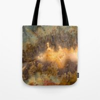 30 rock Tote Bags featuring Idaho Gem Stone 30 by Leland D Howard
