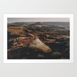 Camp Canyonlands Art Print