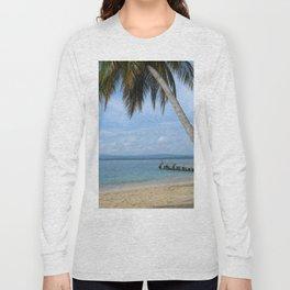 Isle of San Blas PANAMA - the Caribbeans Long Sleeve T-shirt
