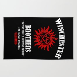 Winchester Brothers Rug
