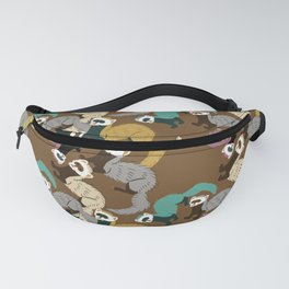 Mustelids are the best antidepressants #8 Fanny Pack