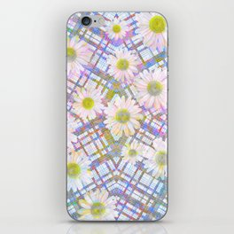 Daisy Plaid iPhone Skin