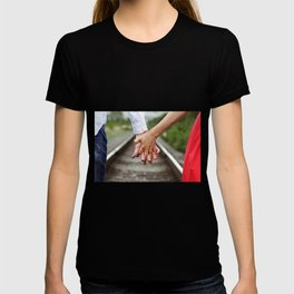 Holding Hands And Engaged T-shirt