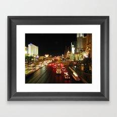 Las Vegas Strip Framed Art Print