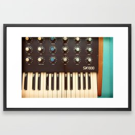 Analog Framed Art Print