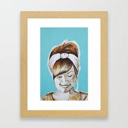 In The Studio Framed Art Print