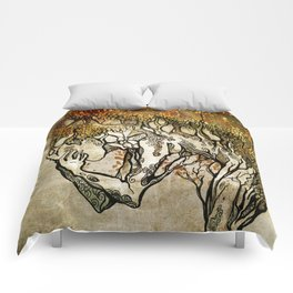 Crying Dryad Comforters