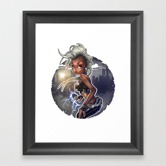 Wind Rider Framed Art Print