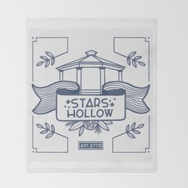 Stars Hollow Tourism Committee Throw Blanket