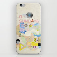ON SUNDAYS I DON'T TALK iPhone Skin