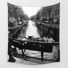 Serenity in Amsterdam Wall Tapestry