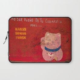 Happy Kitty Laptop Sleeve
