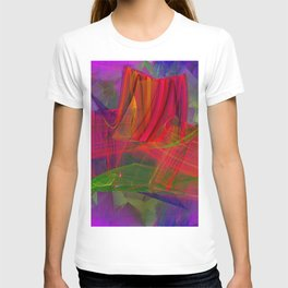 Village in rough weather T-shirt