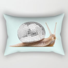 DISCO SNAIL Rectangular Pillow