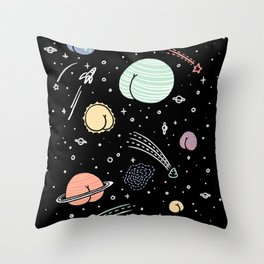 Asstronomy Throw Pillow