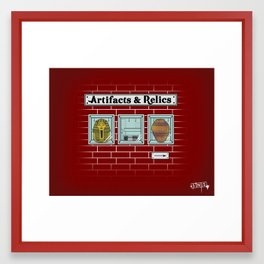 Artifacts & Relics Framed Art Print