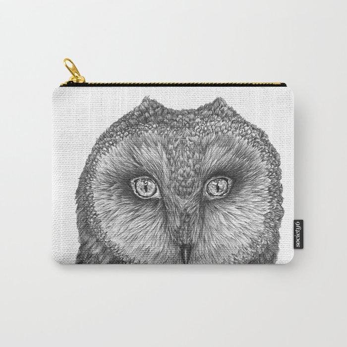 Little Barn Owl Carry-All Pouch