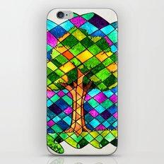 Tree Jumble iPhone & iPod Skin