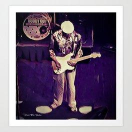 Buddy Guy - House Of Blues Art Print