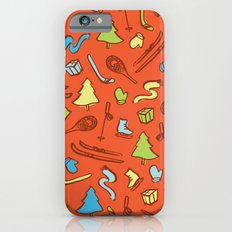 Holiday winter pattern fun iPhone 6s Slim Case