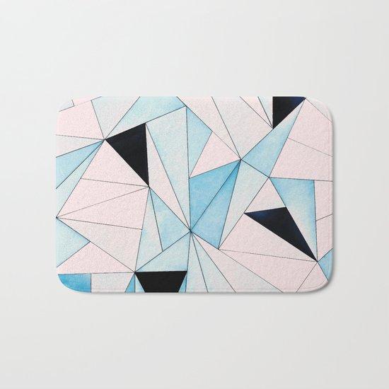 Geometric Washout #society6 #decor #buyart Bath Mat