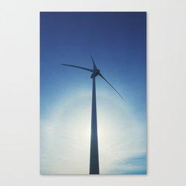 Turbine Halo Canvas Print