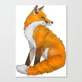 Red Fox Canvas Print