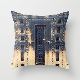 Temple of Eternity Throw Pillow