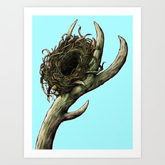 The Horn Art Print