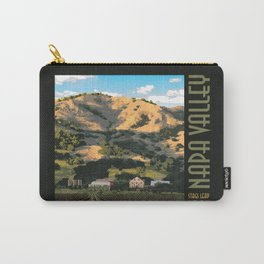 Napa Valley - Regusi Vineyards  II Carry-All Pouch