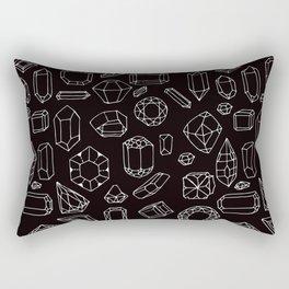 Crystals & Rocks #2 Rectangular Pillow