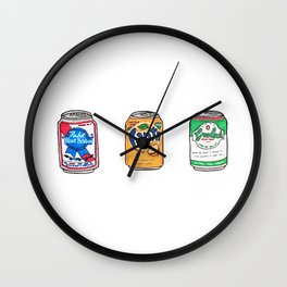 Tsites cannes - Little cans Wall Clock