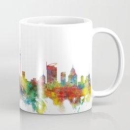 Auckland New Zealand Skyline Coffee Mug