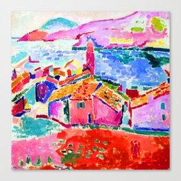 Henri Matisse Les toits de Collioure Canvas Print