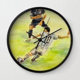 Lionel Messi_ Argentine professional footballer Wall Clock
