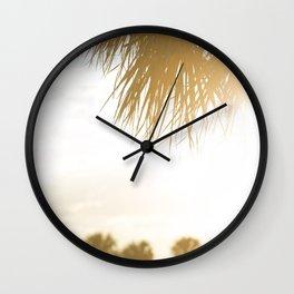 Miami Sunsets Wall Clock