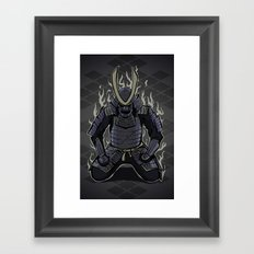 Samurai Spirit Framed Art Print