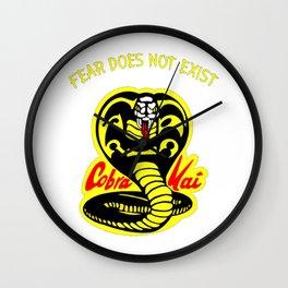 Cobra Kai Retro Karate Wall Clock