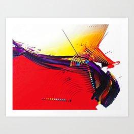 Abstract Art Britto - QB266 Art Print