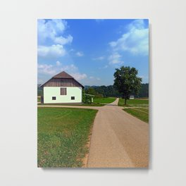 Peaceful countryside scenery | landscape photography Metal Print