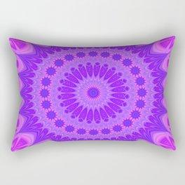 Cold flame mandala Rectangular Pillow