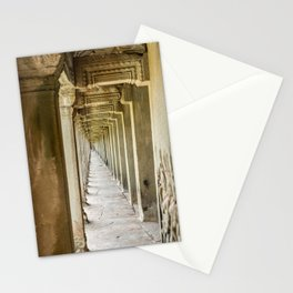 Angkor Wat Leading Lines, Cambodia Stationery Cards