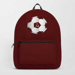 Russian Flag Icons Football Backpack