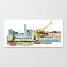 Arm Hopper Canvas Print
