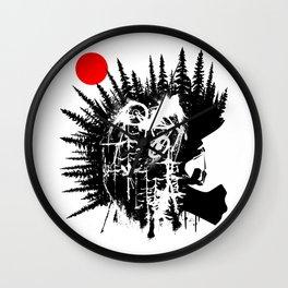 Punk Rider Wall Clock