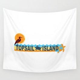 Topsail Island - North Carolina. Wall Tapestry